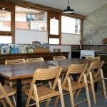 Cuisine / salle à manger des yourtes