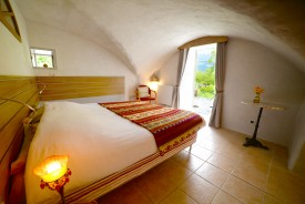 La chambre d'hôte ouvrant sur la montagne de Glandasse